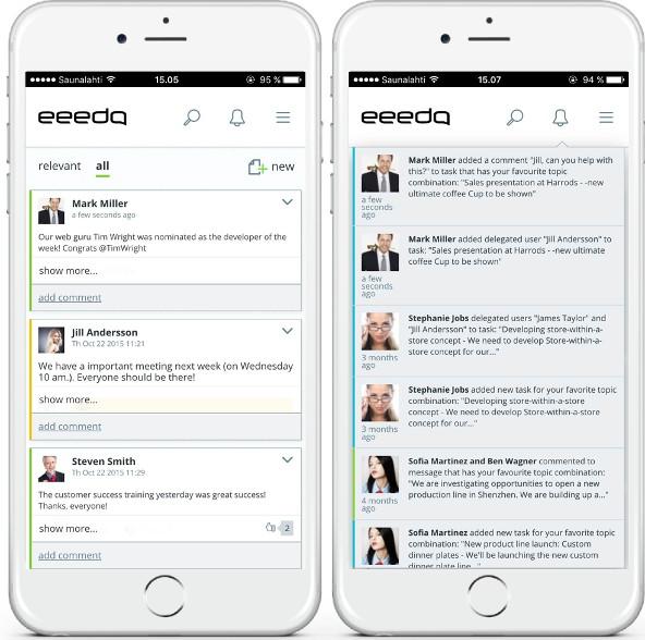 eeedo's mobile app